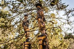 Camuflados (AGM Photo) Tags: viaje sculpture naturaleza mountain nature argentina statue agua américa paisaje paseo montaña córdoba countrymen paisanos lacumbrecita camuflaje américadelsur entorno bellezanatural