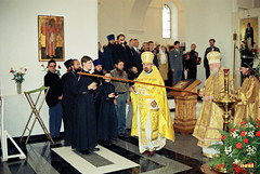 057. Consecration of the Dormition Cathedral. September 8, 2000 / Освящение Успенского собора. 8 сентября 2000 г