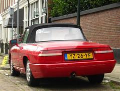 1991 Alfa Romeo Spider 2.0 (rvandermaar) Tags: spider alfa romeo 1991 20 alfaromeo alfaspider alfaromeospider sidecode4 yz26yf