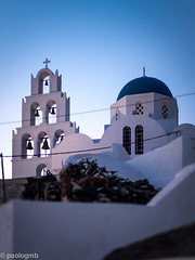 greek church (paologmb) Tags: summer church architecture relax arquitectura icon santorini greece 50 noctilux095 leicamtyp240