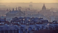 Paris roofs (poludziber1) Tags: city sunset sky paris france colorful capital roofs landscap challengeyouwinner cyunanimous