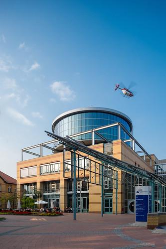 Hauptgebäude des Unfallkrankenhauses Berlin Foto: Ole Bader 1101