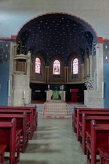 Baden-Baden, the protestant Martin-Luther-Church, interior (BZK2011) Tags: choir interior sony cybershot altar chor protestantchurch martinlutherkirche evangelischekirche rx100