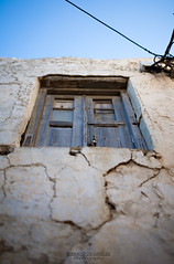 Old window (alexandros_galatas) Tags: old blue sky house building art classic window colors canon lens eos 50mm dof bokeh f14 5d shallow cracked marki mark1 mk1 sgima