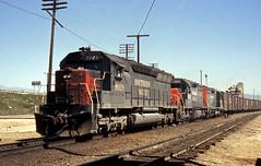 SP 9029W @ Colton (GRNDMND) Tags: california trains sp colton locomotive railroads southernpacific espee sd45 emd sd35 coltontower