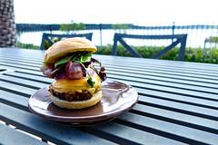 Bacon Cheeseburger (Sam Griggs) Tags: lake cheese bacon florida burger double grill cheeseburger cheesey