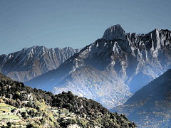 Pizzo Badile 1 (sandra_simonetti88) Tags: italien italy mountains montagne italia valle berge va autunno montagna lombardia italie pizzobadile valcamonica vallecamonica