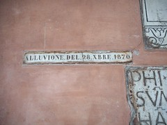 Flood December 28, 1870 in Rome - San Lorenzo in Lucina Church in Rome (* Karl *) Tags: italy rome roma flood alluvione