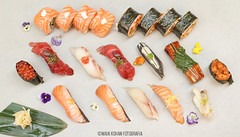 Momiji cocina japonesa (sushi by Diego Laso) (MaxiKohan) Tags: food cooking valencia sushi cuisine japanese restaurant comida momiji japanesecuisine mercadodecolón cocinajaponesa maxikohanphotography diegolaso