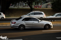 Mercedes-Benz E63 AMG W212. (Stefan Sobot) Tags: car race silver nikon serbia great fast exotic german mercedesbenz belgrade luxury rare beograd supercar amg srbija e63 hamma w212 d7000