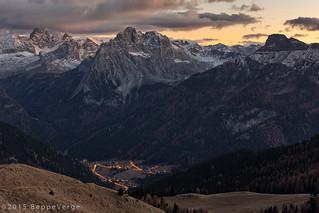 Panorama Passo Sella - Dolomiti