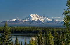 Mt. Drum (Philip Kuntz) Tags: alaska volcano stratovolcano mtdrum copperriver willowlake wrangellmountainrange