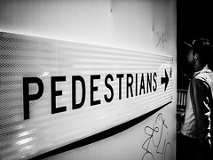 plain and simple (Yiannis Yiasaris) Tags: city people blackandwhite monochrome streetphotography australia melbourne pancake 16mm ultrawideangle sonya6000