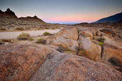 Alabama hills (Fabio Todeschini ) Tags: california sunset sky parco usa rock america nikon rocks tramonto hill alabama sigma fabio hills lee nd sentiero rocce parc haida sabbia crepuscolo tode gnd americ todeschini d3100 fabiotode