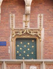Krakov, univerzita (59) (ladabar) Tags: doorway portal kraków cracow cracovia krakau krakov dveře portál