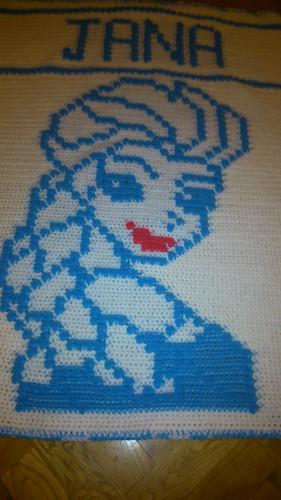Elsa blanket. for Jana