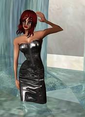 30 (SoakinJo) Tags: highheels wetlook wetclothes imvu wetleather wetdress