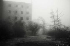(Giorgos-S) Tags: blackandwhite mist fuji athens greece parnitha x100 acharnai