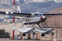 Private --- Cessna 208B Grand Caravan EX --- N71268 (Drinu C) Tags: ex plane private aircraft aviation sony grand caravan dsc cessna mla 208b lmml hx100v adrianciliaphotography n71268