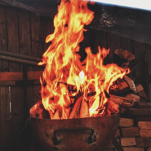 BBQ Fire.