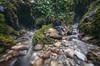 Happy Days I 1 (@hipydeus) Tags: escapist water rocks gorge miniworld composite connected openmind concept