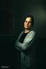 Eva (Herr_PellePlutt) Tags: 2017 eva januari porträtt portrait woman glases moody speedlight rogue flashbender apollo strip knekta