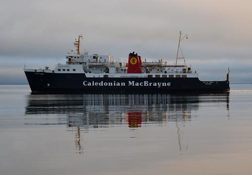MV Isle of Arran departing Brodick