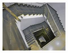 Deep Effect (friedrichfrank1966) Tags: dresden tiefe treppenhaus stairs staircase rahmen stages escalonada indoor focus