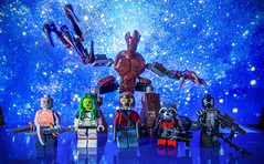[Lego Marvel] The Final Frontier (Jonathan Wong Photography) Tags: lego guardians galaxy marvel comics superheroes space cosmic drax destroyer gamora star lord starlord rocket raccoon groot agent venom purist figbarf customs minifigures