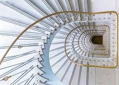 Stair B A G (SeattleHVAC172) Tags: city minimal urban architecture abstract gold art stairs staircase treppenhaus treppe munich münchen muc stiegenhaus rominakutlesa