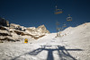Winter and across the blue sky (alessmile ♥) Tags: breuilcervinia valledaosta