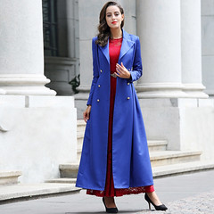 Maxi Trench (betrenchcoated) Tags: trenchcoat trench raincoat regenmantel bodenlang fulllength beautifulgirl buttoned doublebreasted buttons