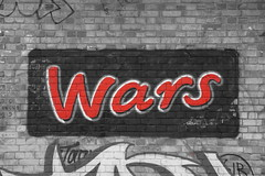KGuy and more wars mars (Ot3n) Tags: pun playonwords streetart marswars london
