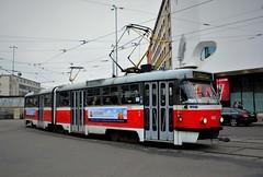 Brno, Nádražní 21.10.2016 (The STB) Tags: brno tram tramway strassenbahn strasenbahn tramvaj tramvajovádopravavbrně tatra tatrawagen čkd českomoravskákolbendaněk