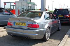 BMW M3 CSL (D's Carspotting) Tags: bmw m3 csl france coquelles calais grey 20100613 r55hes le mans 2010 lm10 lm2010