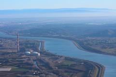 rhone (Nicolas4065) Tags: rhone fleuve france camargue vue aerienne vol avion hauteur
