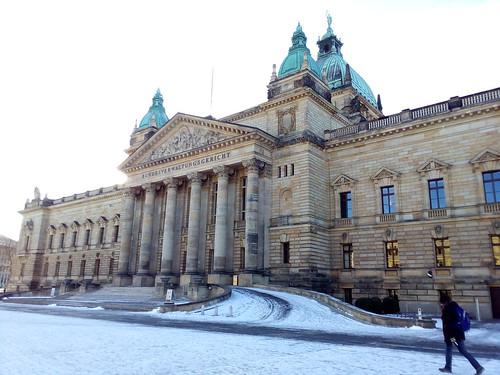 Fórum de justiça Leipzig