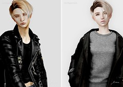 tram G0106 hair (tram (moca loup)) Tags: tram sl secondlife hair short flf