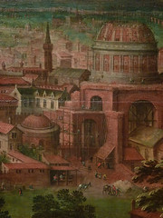 CLEVE (van) Hendrick III ,1580 - Vue sur les Jardins du Vatican et la Basilique St-Pierre (Custodia) - Detail 15 (L'art au présent) Tags: art painter peintre details détail détails detalles painting paintings peinture peintures 17th 17e peinture17e 17thcenturypaintings 17thcentury detailsofpainting detailsofpaintings tableaux custodia custodiafoundation paris france hendrickiiivancleve hendrick hendrickiii cleve vancleve dutchpaintings peintreshollandais dutchpainters jardinsduvatican basiliquestpierre basilique basilica stpierre jardins gardens parc park vatican italie italia italy church panorama landscape house houses maisons figure figures people personnes plaisirs jeux games game fun play pleasure montagnes mountain mountains abruzzes 7collinesderome rome roma sevenhillsofrome saintpierrederome saintpierre