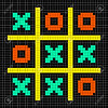 8-bit Pixel Art Noughts and Crosses - Stalemate Game (thegleeful) Tags: noughtsandcrosses tictactoe 8bit pixelart mosaic arcade retro vintage vector game puzzle draw stalemate computergame grid illustration square