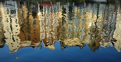 Reflections (Clare-White) Tags: amsterdam reflections blue buildings water boats city canal kaizergracht mpt536 matchpointwinner challengegamewinner