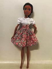 Barbie without under skirt (nesi b) Tags: barbie endlass hair kingdom 17 requiemart pattern