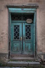 Old turquoise door (Lichtbursche) Tags: architektur blau motiv nostalgie tür alt architecture blue door motive nostalgia old altetürkisfarbenetür loitz mecklenburgvorpommern deutschland de