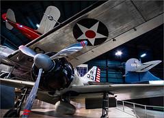 R33 (Chris Protopapas) Tags: usaf museum dayton ohio airplane sony jumble propeller zero mitsubishi a6m2 douglas b18 bolo