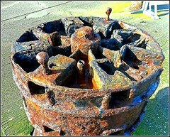 Rusty and Corroded ... (** Janets Photos **) Tags: uk bridlington piers harbours relics rust corrosion