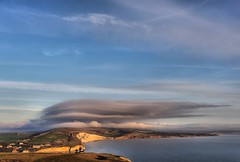 Freshwater Bay (Gary Baldy) Tags: clouds sky sea freshwaterbay isleofwight pentaxk3 sigma18250mmmacro