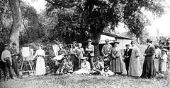 Nagybányai művésztelep 1900 körül (Elekes Andor) Tags: nagybánya 1900 hungary