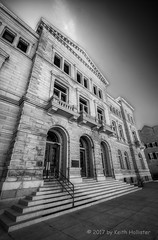Old Post Office Building (HD_Keith) Tags: bw architectural architecture blackwhite blackandwhite building edifice edifices structures charleston sc usa