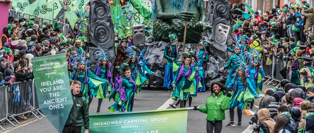 THE INISHOWEN CARNIVAL GROUP [PATRICKS DAY PARADE IN DUBLIN 2017]-126013