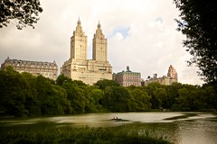 Park for a Moment (cookedphotos) Tags: park nyc newyorkcity red green love nature water canon boat couple apartments centralpark romance romantic project365 365project 5dmarkii p3652015
